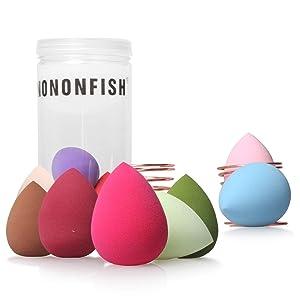 Blender Sponge Beauty Makeup Blender Sponge Set with Beauty Sponge Holder for Dry & Wet Use No-Latex