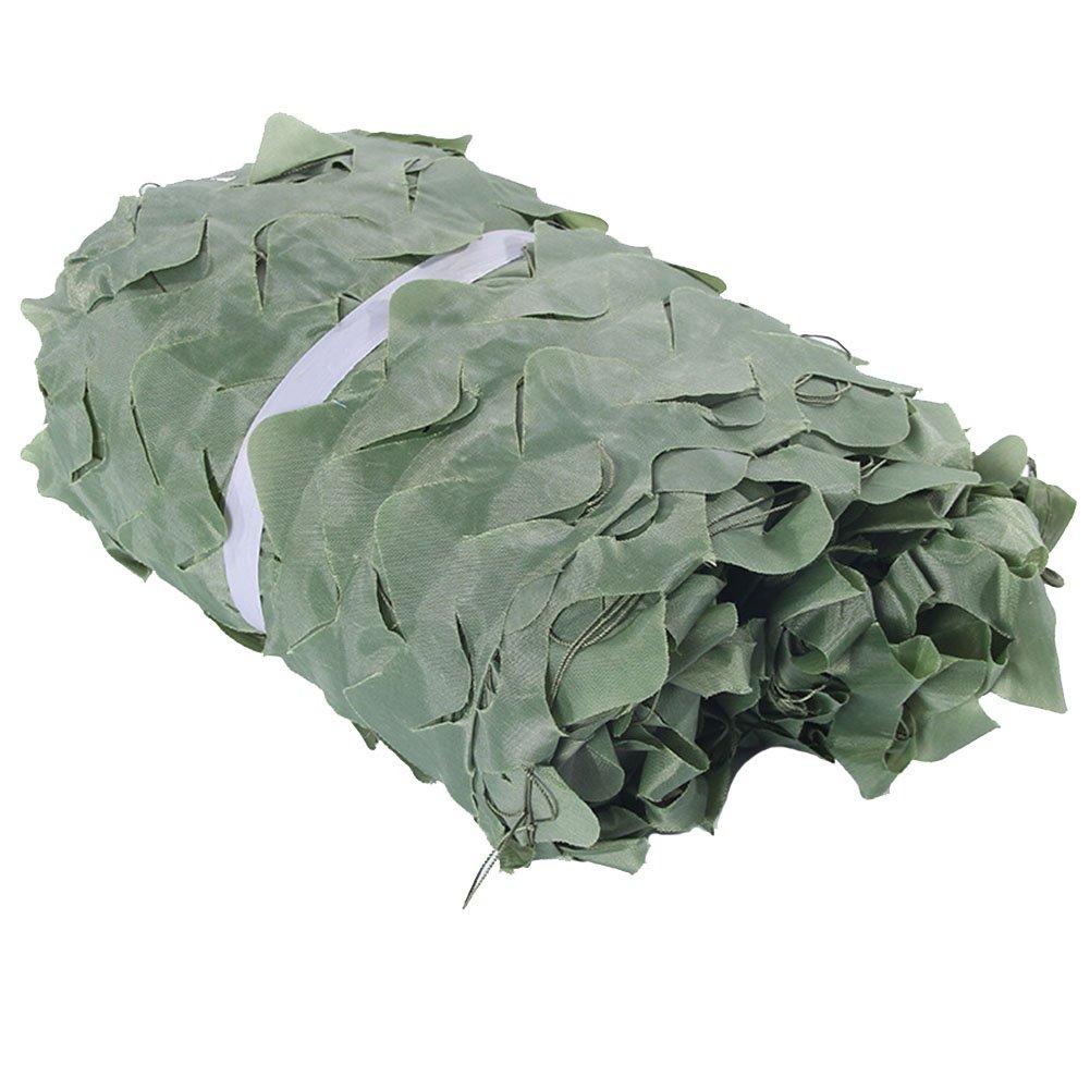 KXBYMX Rete Parasole, Parasole per Esterno, Rete per Protezione Solare Traspirante, Rete Mimetica Jungle, Rete di Protezione antiaerea, polietilene Pieghevole Protezione Solare per Piante da Giardino