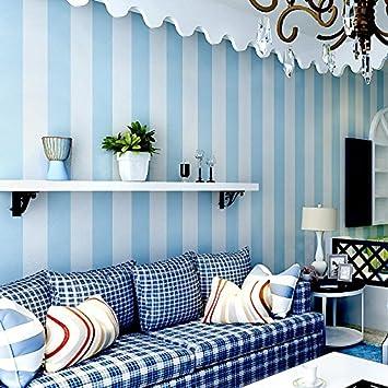 LXPAGTZ Simple moderne papier peint non-tissé chambre salon noir et ...