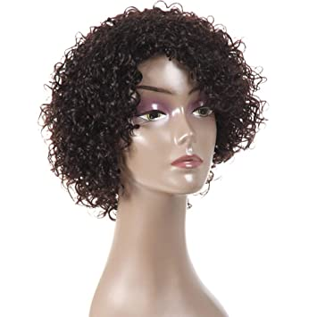 Amazon.com   YAMI 8a Brazilian Wet and Wavy Human Hair Wigs 9dc08c5c3ded