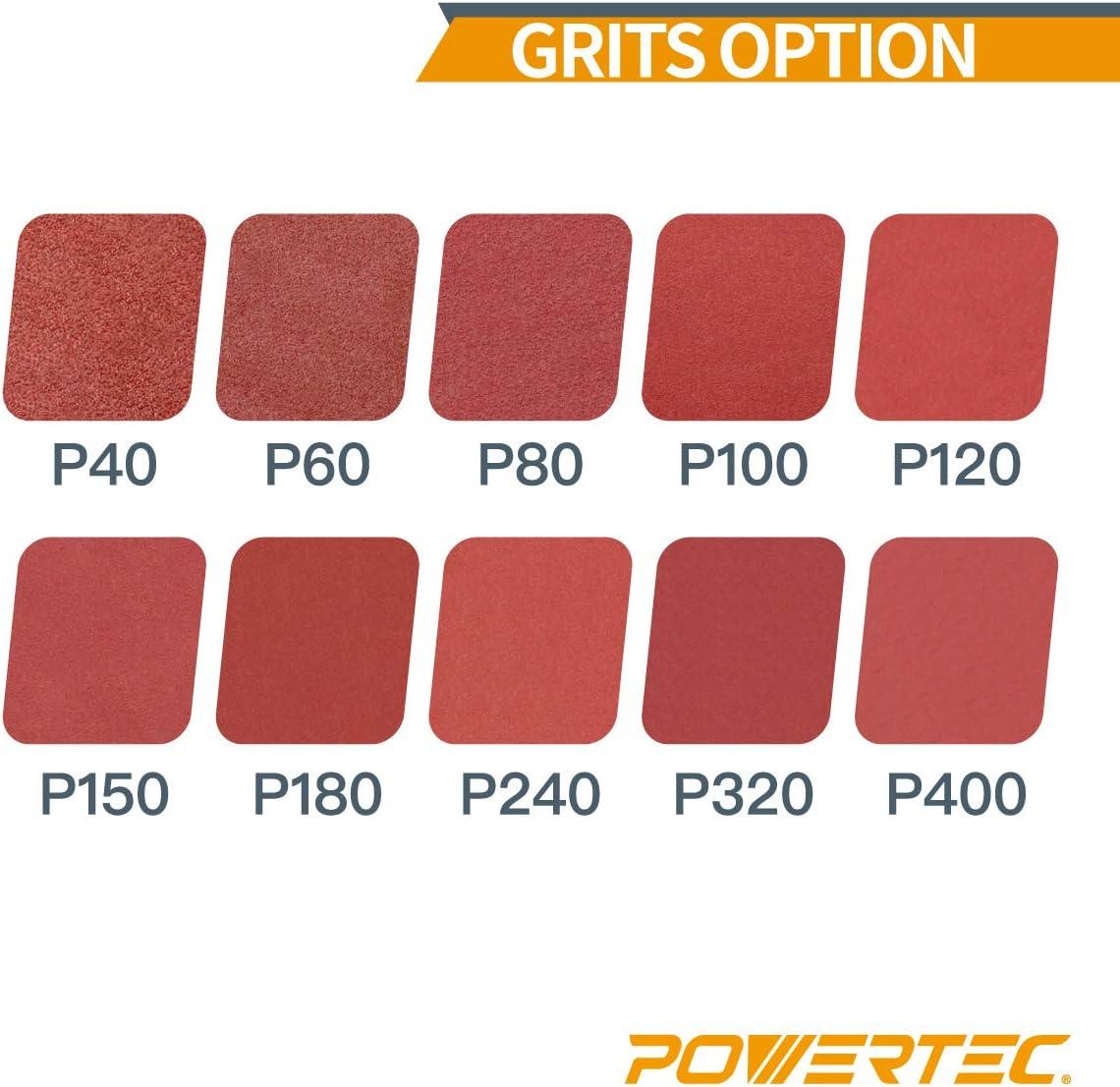 "1/"" x 42/"" Aluminum Oxide Sanding Belts 120 Grit XBacking USA 10 Pack CGW 61095"