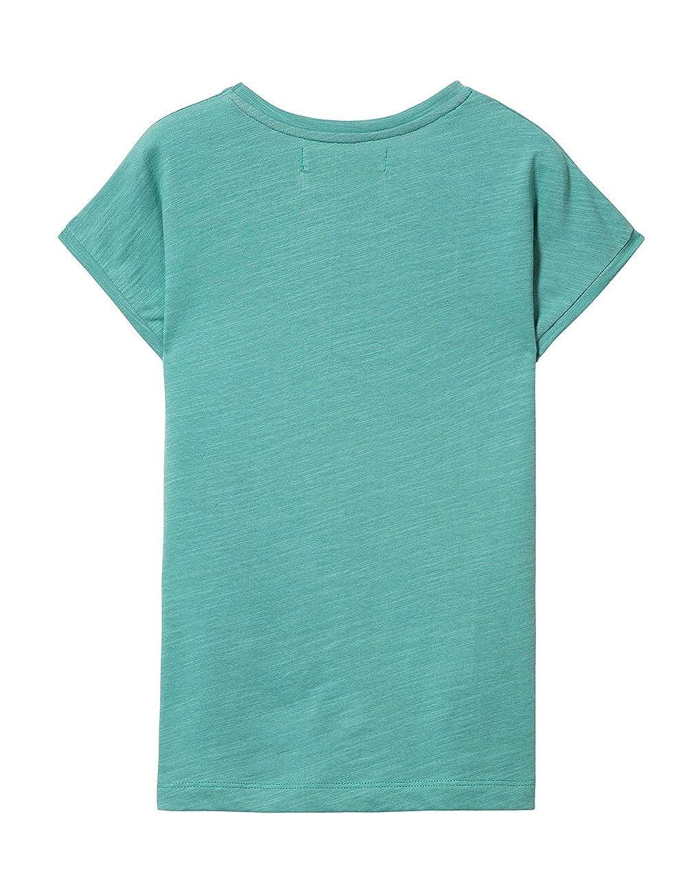 TS/_Missouri Desigual Girl Knit T-Shirt Short Sleeve Fille