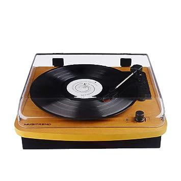 Reproductor de Discos de Vinilo de 3 velocidades Audio Technica ...