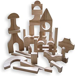 product image for Beka 51-Piece Special Shapes Wooden Blocks