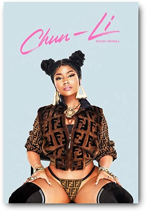 Nicki Minaj Art Silk Poster Living Room Wall Decoration Great Gift 08