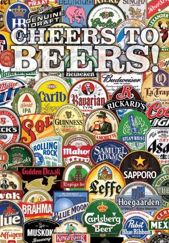 Aquarius Cheers to Beers Tin Sign