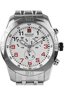 Swiss Military Hanowa Watch 06-5265.04.001.04 - Stainless Steel Gents Quartz Chronograph
