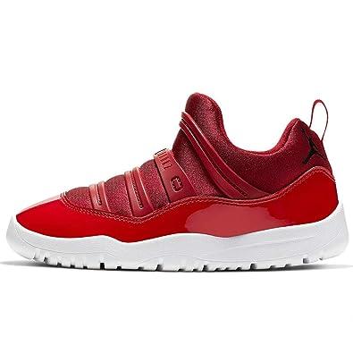 new styles 41aab 1f4c4 Amazon.com | Jordan 11 Retro Little Flex Gym Red/Black-White ...