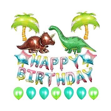 Qinlee - Decoración de cumpleaños para niña, con globos de ...