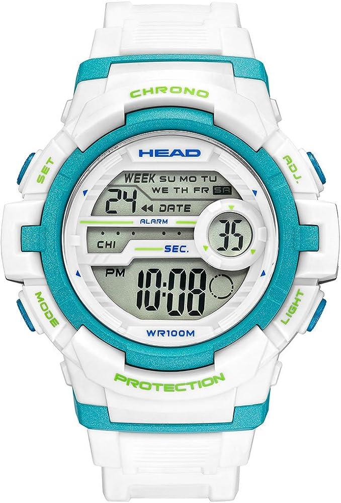 Head Reloj Digital para Hombre de Cuarzo con Correa en Resina HE-112-04