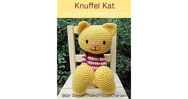 Knuffel Kat Amigurumi Haakpatroon Grote Knuffelpoppen Book 1 Ebook