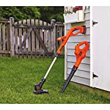 BLACK+DECKER LCC221 20V MAX Lithium String Trimmer/Edger Plus Sweeper Combo Kit, 10'