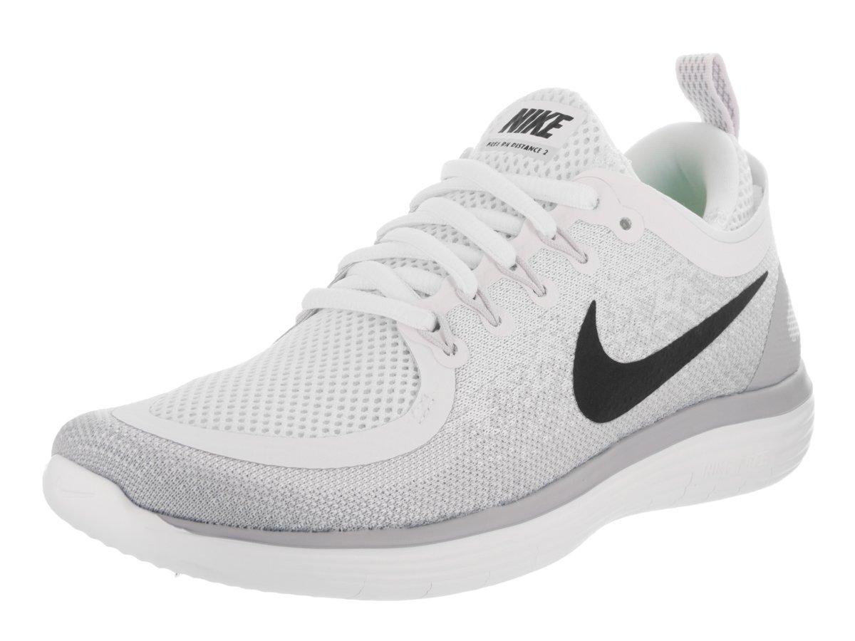 Nike Women's Free Rn Distance 2 Running Shoe B004C9V6RG 6.5 B(M) US|White/Grey-m
