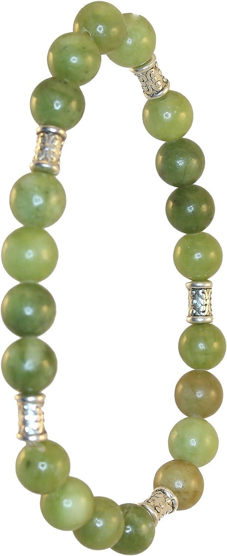 Celtic gemstone Irish Jewelry  Irish gift Connemara marble chunky bead bracelet Mens bracelet women\u2019s unisex bracelet Irish made craft