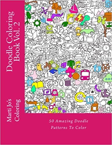 Doodle Coloring Book Vol 2 Marti Jos 9781500605162 Amazon Books