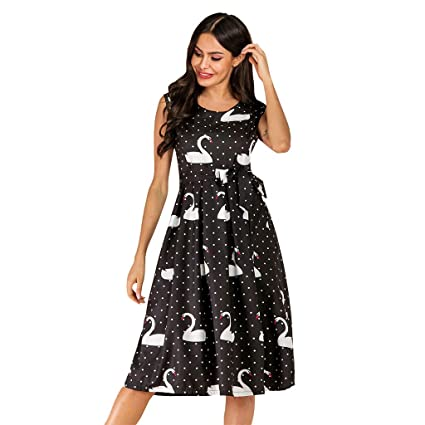 NANTE Top Loose Womens Dress Peacock Print Long Maxi Dresses Bohemia Sleeveless Skirt Ladies Gown Sundress Beachdress