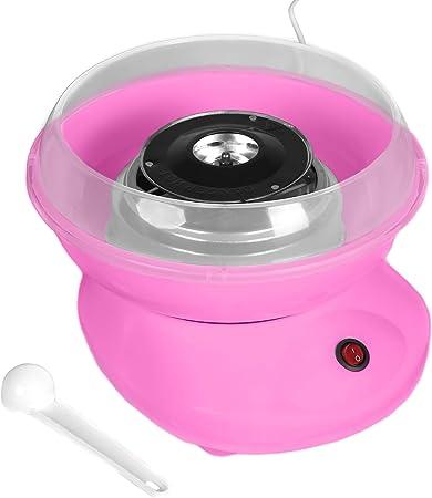Máquina de algodón de azúcar para el hogar, dulces o máquinas Candy Floss Machine/Cotton Candy Machine Rosa: Amazon.es: Hogar