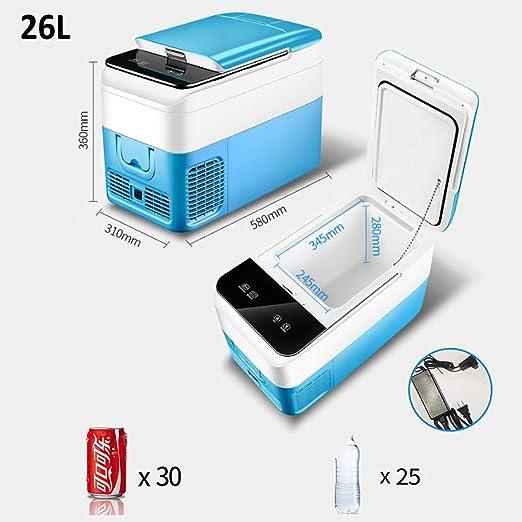 LIUWEI (18-26L) compresor Refrigerador Coche, Termoeléctrica ...