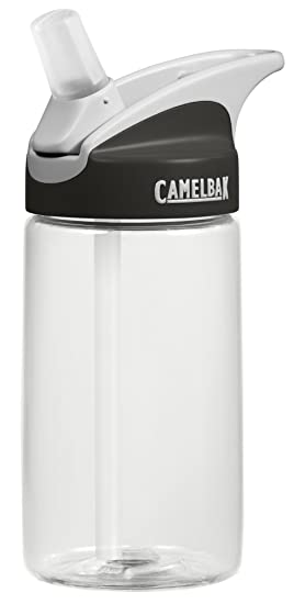 50af3f57be CamelBak Kids Eddy Water Bottle, Clear, 400 ml: Amazon.co.uk: Sports ...