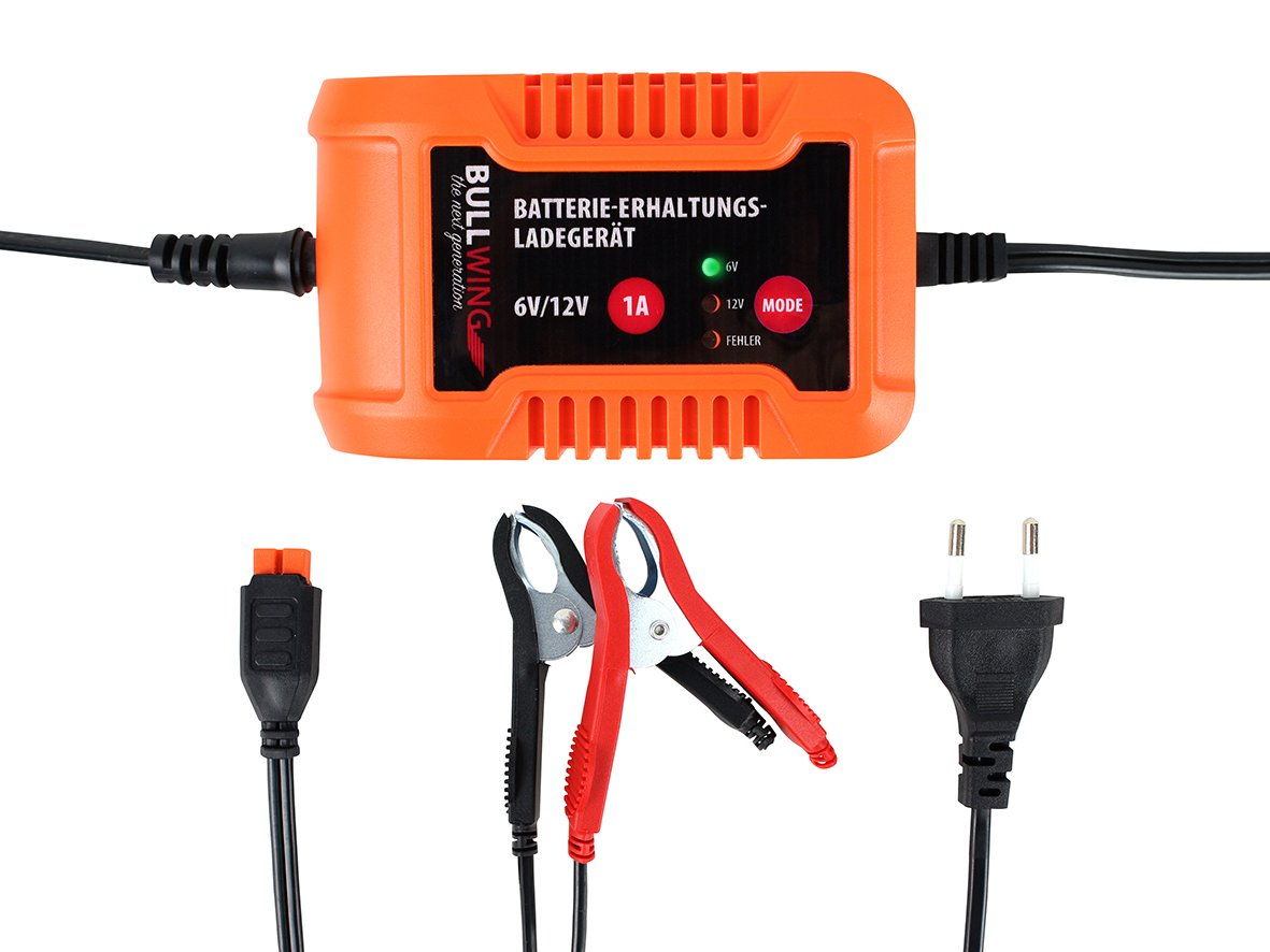 Battery Trickle Charger 6/12 V 1 A Bullwing EAL GmbH