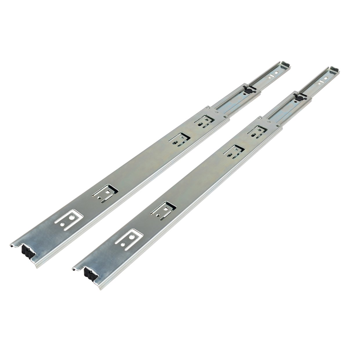 16'' Side Mount Full Extension Ball Bearing Drawer Slide, 16-Inch, 1-Pair, 100-LBS Weight Capacity