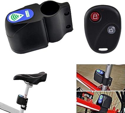 Bike Alarm Lock Bicycle Security Wireless Remote Control Vibration Anti-theft HY