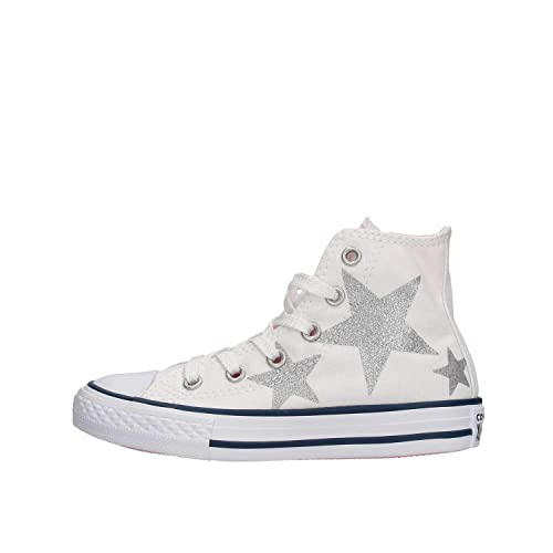 STARS HIGH TOP LEATHER SNEAKERS SHOES AND BAGS BABY GIRL | 3