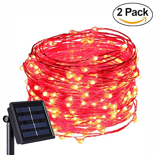 Red Solar Lights - 7