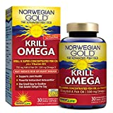 Norwegian Gold – Krill Omega – Krill & Fish Oil supplement – 30 softgel capsules – Renew Life brand Review