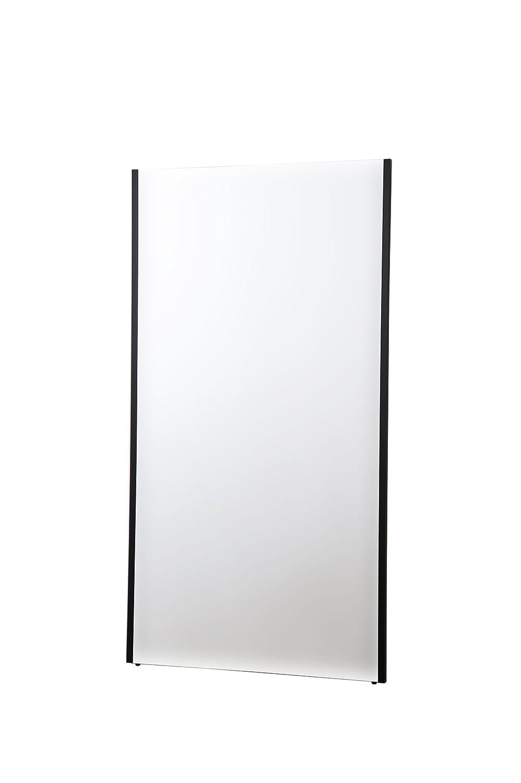 割れない軽量な鏡80×150cmブラック NRM-6/B B0083D7PZY 80×150cm|ブラック ブラック 80×150cm