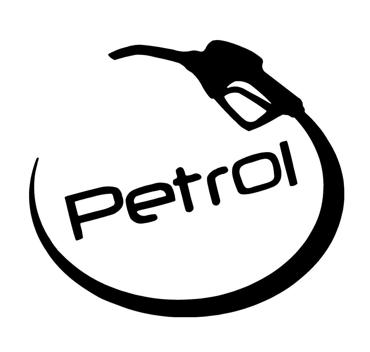 Cvanu petrol fuel lid side car sticker for maruti suzuki ignis p 9 black amazon in car motorbike