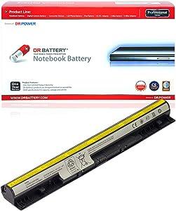 DR. BATTERY L12M4E01 Battery Compatible with Lenovo IdeaPad G400S G500S G505S G510S Z710 S410p S510p Z40-70 Z50-70 G50-80 L12L4E01 L12M4A02 L12L4A02 121500171 121500175 L12S4E01 [14.4V/2200mAh/32Wh]