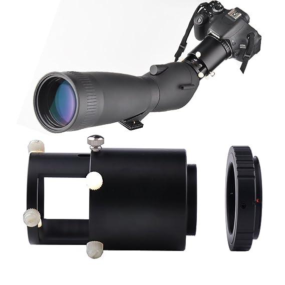 solomark T adaptador de montura T2 Cámara adaptador de lente para ...