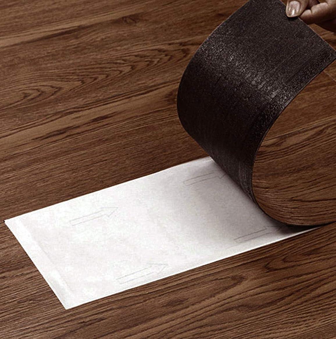 お風呂を持っている読む帽子フロアタイル (パイン P001) 置くだけ はめ込み 接着剤不要 床暖房対応 12枚セット フローリング シデフロア 下地シート付き 防音シート付き ペット対応