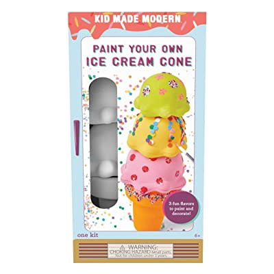 hot sale 2019 Kid Made Modern Paint Your Own Ice Cream Cone - DIY