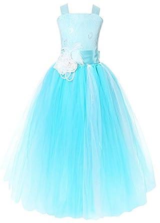 AGOGO AGOGO Mädchen Kinder Nachgestellte Kleid Festlich ...