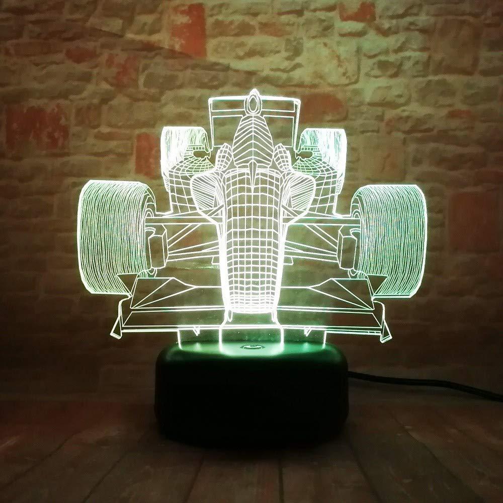 f016c39e85 Ilusión óptica de la lámpara visual visual visual 3D llevó la luz de la  noche