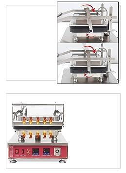 np-849 comercial eléctrico doble digital Custard Tart para huevos ...