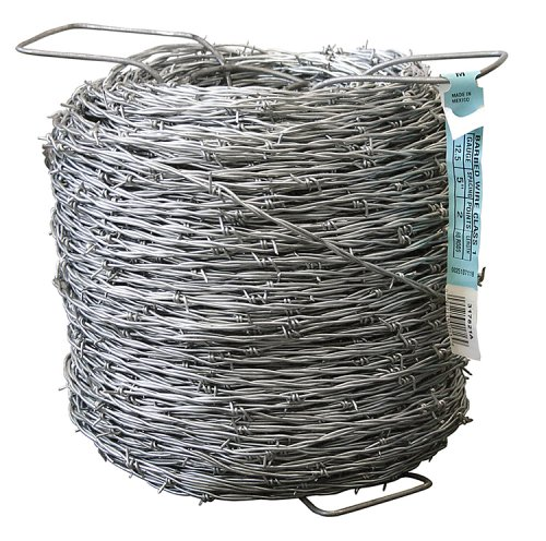 Mat Midwest Air Tech 1,320-Foot 12-1/2 Gauge 2-Point Barbed Wire #317821A (Roll Wire Barbed)