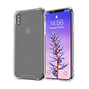 iphone xs coque transparente fine