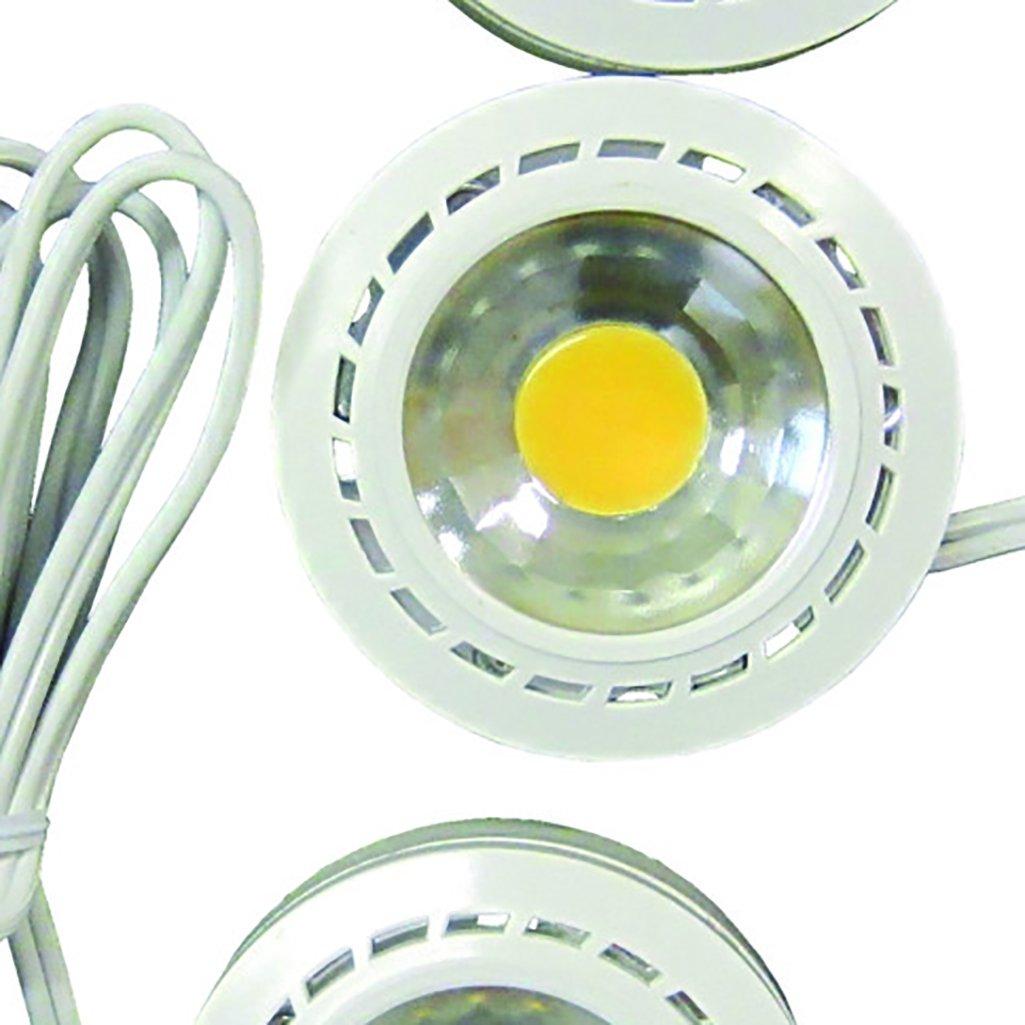 3-Pack Canarm LED-3PT1//12WHT-C Under Cabinet LED Puck-Light