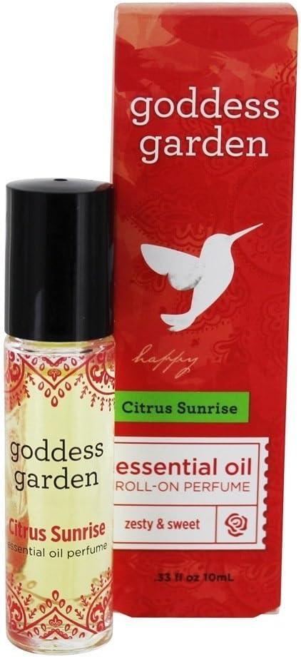 GODDESS GARDEN Citrus Sunrise Perfume, 9.75 ML