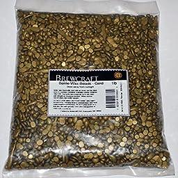 Brewcraft Brand - Bottle Sealing Wax Beads – GOLD - 1 Pound