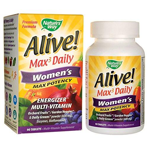 Alive! Max 3 Daily Women's Multi-Vitamin 90 ()