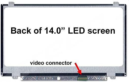 BRIGHTFOCAL New LCD Screen for Lenovo Ideapad 100S-14IBR HD 1366x768 Replacement LCD LED Display Panel