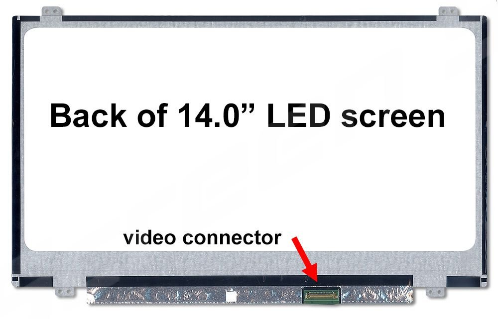 HP Stream 14-AX010CA X9F37UA New Replacement LCD Screen for Laptop LED Matte Generic