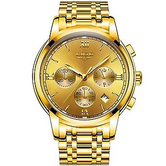 Relojes de Hombre Male Mens Reloj Hombre Watches Large Dial Fashion Casual Sports Quartz RE0098