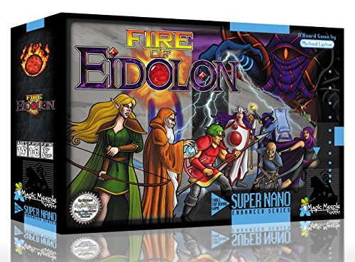 Fire of Eidolon Dungeon Adventure Board Game ()