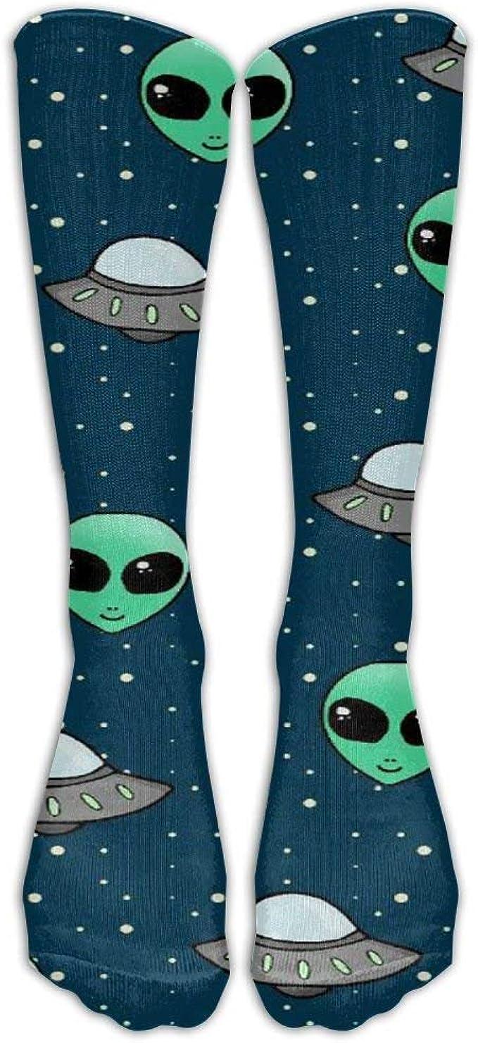 Alien and Ufo Head Calcetines unisex con diseño casual para ...