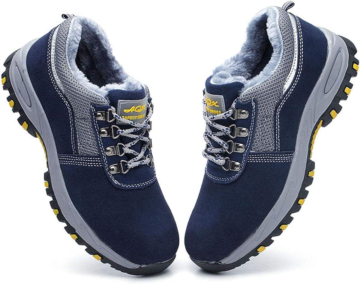 DoGeek Chaussure de Securit/é Homme Femme Legere Confortable Chaussures de Travail Basket de Securite Homme Embout de Protection en Acier